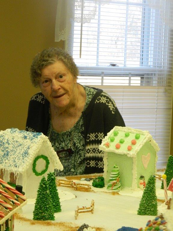 Gingerbread house visit 2015 (4)